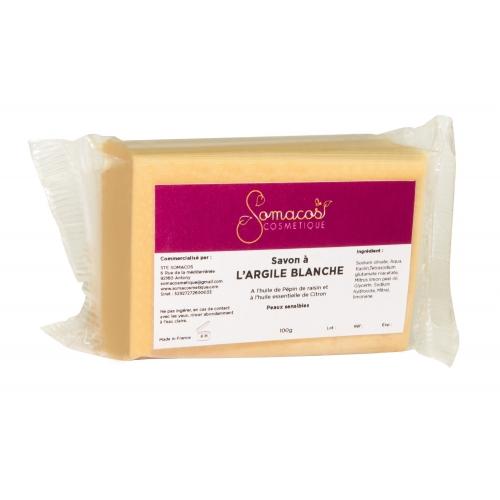 Savon à l'argile blanche (peaux sèches et sensibles)