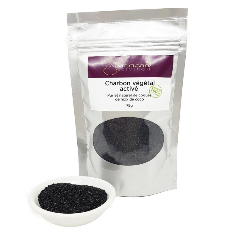 Le charbon végétal activé (poudre) 100% pur et naturel